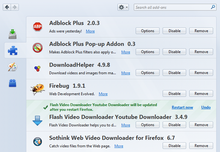Best Video Downloader Add Ons For Firefox